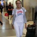 Sharon Stone – Arriving at LAX Airport in Los Angeles - 454 x 681
