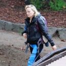 Malin Akerman at Griffith Park in Los Angeles - 454 x 681