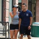 Miranda Lambert in Shorts – Out for a stroll in NYC - 454 x 647