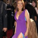 Patricia Heaton - Purple Dress, Red Carpet