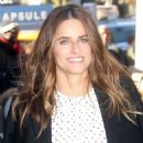 Amanda Peet – Arrives at AOL Build Series in NYC - 454 x 681