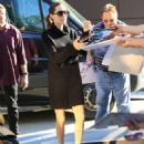 Angelina Jolie brought Day of the Dead cookies to Vivienne's Shaolin karate class