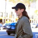 Adrien Brody spotted in Beverly Hills, California on February 14, 2017. Adrien was with a friend having lunch at Ebaldi restaurant - 383 x 600