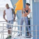 Dwayne Johnson- March 28, 2016-The Set of Baywatch - 454 x 375