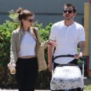 Kate Mara and Jamie Bell – Out in Burbank - 454 x 681
