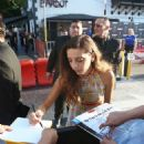 Angela Sarafyan – Signs autographs and greets fans in Hollywood - 454 x 589