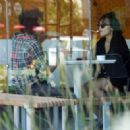 Stella Hudgens and boyfriend Eric Unger out in Studio City