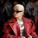 Christina Aguilera – Christian Cowan Fashion Show in NYC