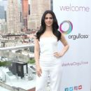 Emeraude Toubia – Hosts P&G's #WeAreOrgullosa Beauty Event in NY - 454 x 682
