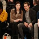 Rachel Brosnahan and Jason Ralph – Boston Celtics vs New York Knicks game - 454 x 534