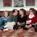 Red Buttons, Betty White, Bruce Willis, Michelle Pfeiffer, Jayne Meadows and Tom Poston in Universal's The Story Of Us - 10/99