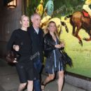 Kelly Rutherford, Tony Brand and his step-sister-in-law Lindsay Leaf arrived for dinner at the Polo Bar in NYC - 454 x 629