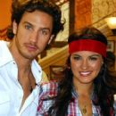 Eugenio Siller and Maite Perroni