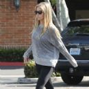 Denise Richards in Tights Out Shopping in Malibu - 454 x 681