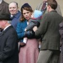 "Billie Piper - Filming ""A Passionate Woman"" At Leeds Town Hall - November 3, 2009"