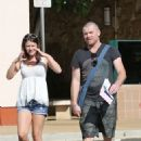 Sam Worthington and Crystal Humphries