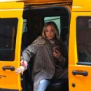 Kaley Cuoco – 'The Flight Attendant' set in NYC
