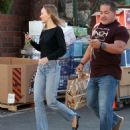Lily Rose Depp – Leaving a LA grocery store - 454 x 529