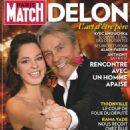 Alain Delon - Paris Match Magazine Cover [France] (November 2008)