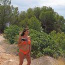 Imogen Thomas in Bikini on the beach in Mallorca - 454 x 681