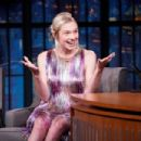 Hunter Schafer – On 'Late Night with Seth Meyers' in New York City