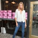 Toni Garrn Frame Denim Presents Karlies Diner In New York