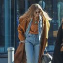 Gigi Hadid – Leaving her apartment in New York