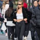 Stella Maxwell – Heads to lunch at The Smile in NYC