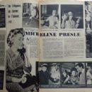 Micheline Presle - Festival Magazine Pictorial [France] (13 December 1960) - 454 x 338