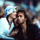 Carla Bruni and Vincent Perez