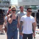 Gemma Atkinson and boyfriend Gorka Marquez out in Barcelona - 454 x 803
