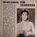 Gina Lollobrigida - Funk und Film Magazine Pictorial [Austria] (6 April 1957) - 454 x 605