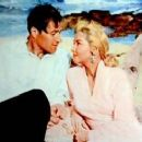 Mari Blanchard and Lex Barker
