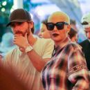 Amber Rose and Scott Disick at the VIP bar on the first night of the annual music festival in Indio, California - April 15, 2016 - 454 x 607