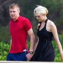 Matthew Gilmour and Elizabeth Smart in Hawaii - 440 x 330