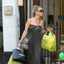 Sarah Harding: leaving her North London home