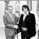 Richard Nixon and Elvis Presley