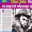 Elton John - Nostalgia Magazine Pictorial [Poland] (April 2017) - 454 x 642