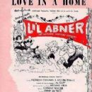 Lil Abner Sheet Music 1956 Gene De Paul