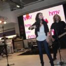 HMV performance and departure