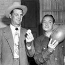 Sammy Baugh & Bob Hope