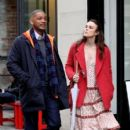 Keira Knightley film scenes for the upcoming movie 'Collateral Beauty' in New York City, New York on April 1, 2016 - 408 x 600