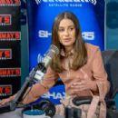 Lea Michele – Visits SiriusXM Studios in New York City