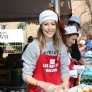 Amanda Crew – LA Mission's Thanksgiving Dinner in Los Angeles 11/23/ 2016 - 454 x 681