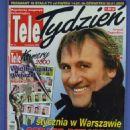 Gérard Depardieu - Tele Tydzień Magazine Cover [Poland] (10 January 2000)