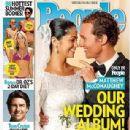 Matthew McConaughey, Camila Alves - People Magazine Cover [United States] (9 June 2012)