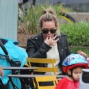 Hilary Duff out in New York City - 454 x 458
