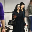 Dita Von Teese – Arrives at the airport in Miami - 454 x 725