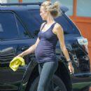 Kathryn Boyd – Washing her car in Los Angeles