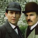 Jeremy Brett and David Burke in The Adventures of Sherlock Holmes (1984)